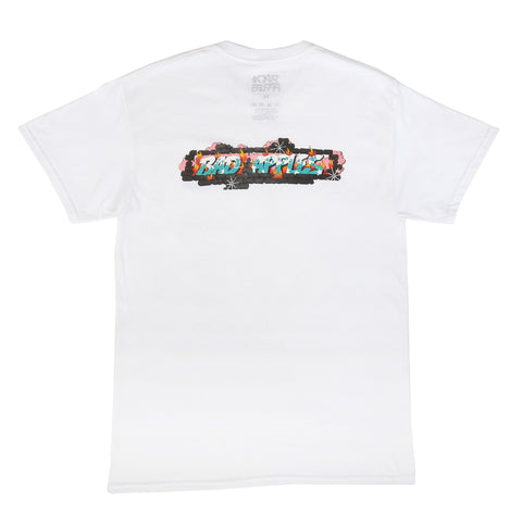 BAD APPLES JETSKE S/S T - WHITE