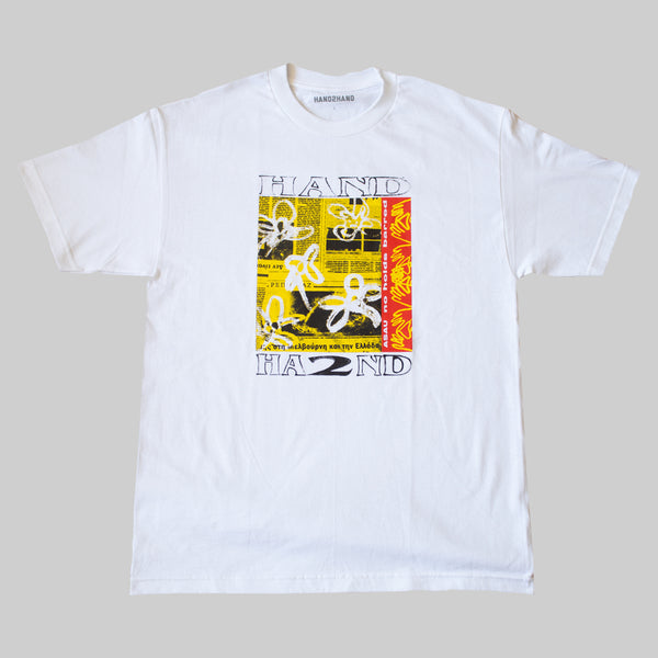 H2H x ASAU NO HOLDS BARRED S/S T- WHITE