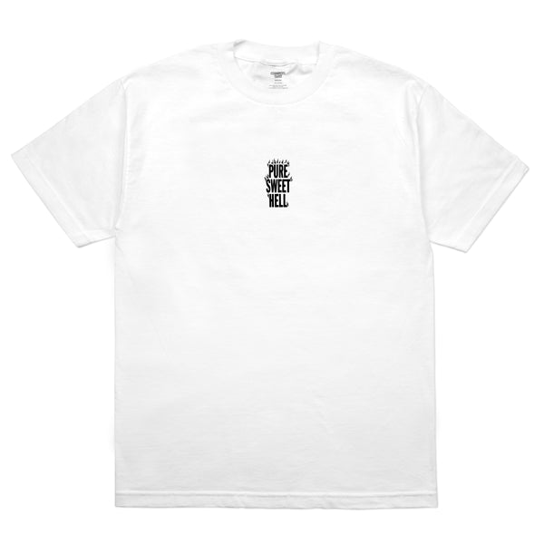 COMMON DUST PURE SWEET HELL  S/S T- WHITE