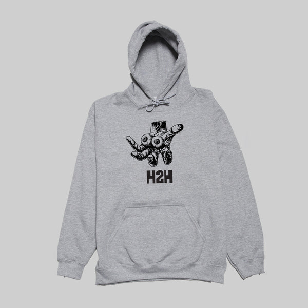 H2H 5 FINGERS OF DEATH HOOD- GREY MARL