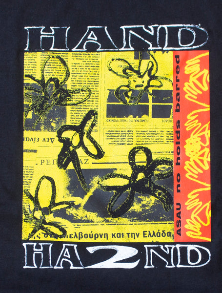 H2H x ASAU NO HOLDS BARRED S/S T- BLACK