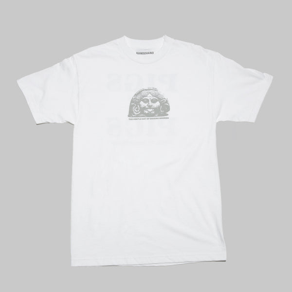 H2H ENEMIES S/S T- WHITE