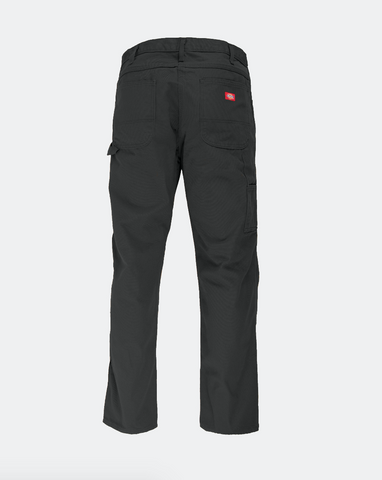 DICKIES  RELAXED FIT CARPENTER PANTS - WASHED BLACK