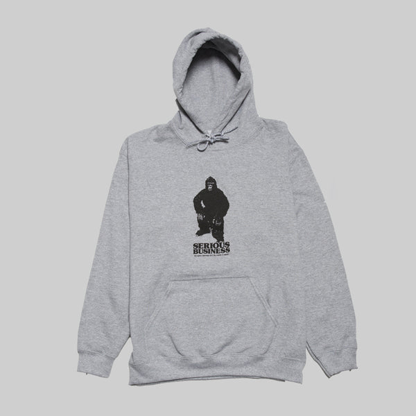 H2H SERIOUS BUSINESS HOOD- GREY