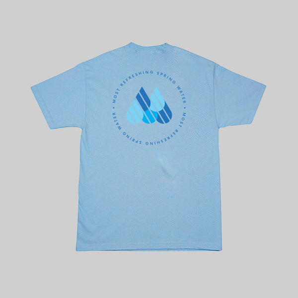 MOST WATER S/S T - POWDER BLUE