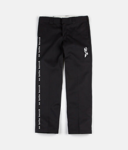 H2H x ASAU NO HOLDS BARRED CUSTOM DICKIES 874 - BLACK