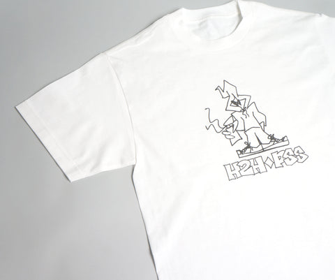 H2H x PSS -  DIRT S/S T- WHITE