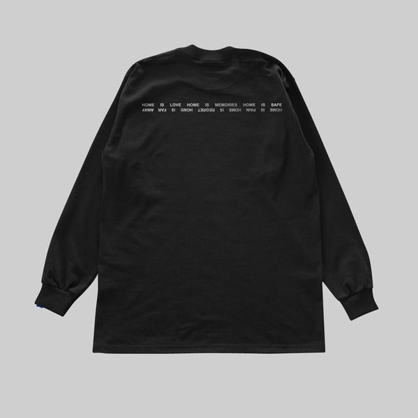 PSEUSHI COLLECTION L/S T - BLACK