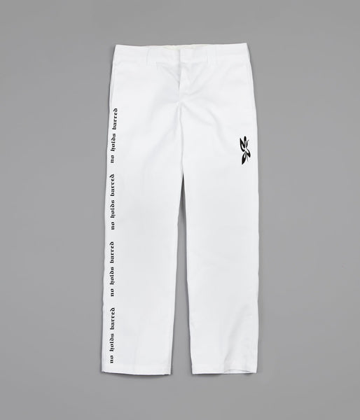 H2H x ASAU NO HOLDS BARRED CUSTOM DICKIES 874 - WHITE