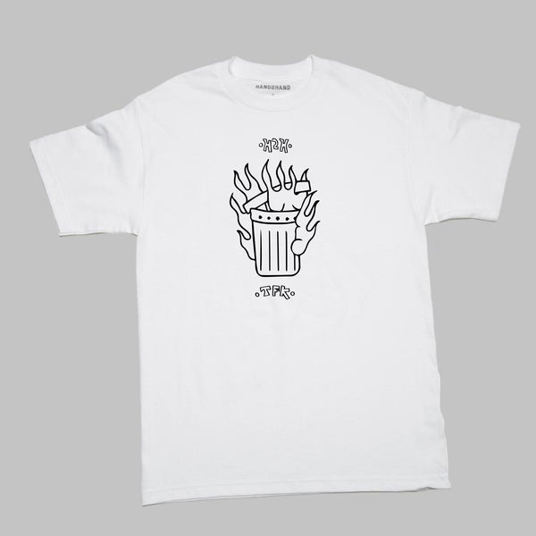 H2HxTFK TRASH S/S T- WHITE