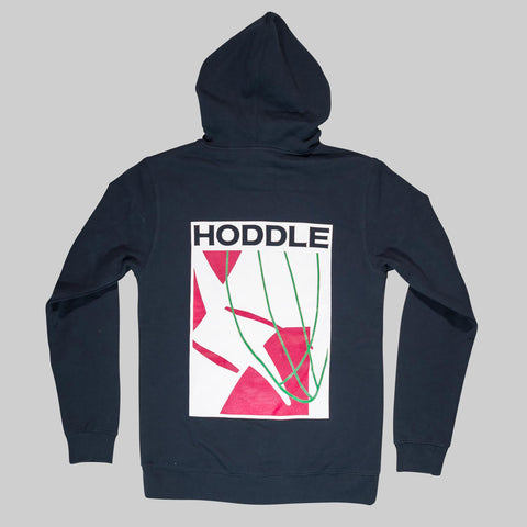 HODDLE PENNYWISE HOOD - BLACK