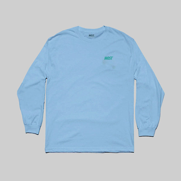 MOST WARPED GRADIENT L/S T - POWDER