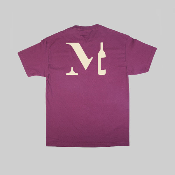 MOST WINE S/S T - MAROON