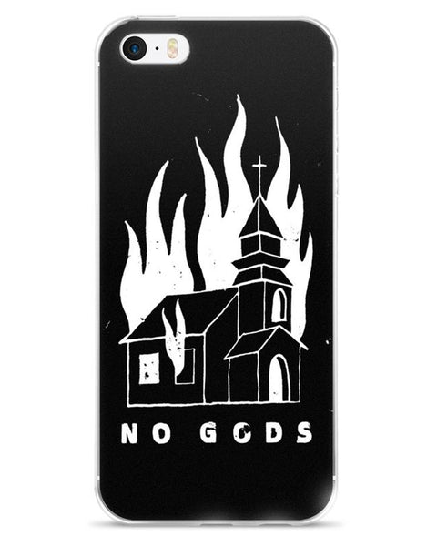 NO GODS - iPhone 5/5s/Se, 6/6s, 6/6s Plus Case