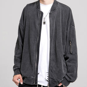 DISTRESSED BOMBER