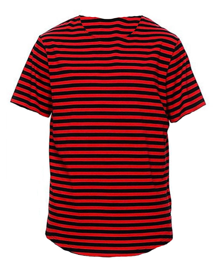 RED + BLACK STRIPE