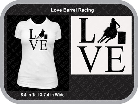 LVE Barrel Racing Shirt