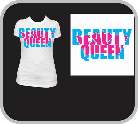 Beauty Queen Crown Custom T-Shirt - Youth