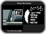Feather to Bird Wings Were Ready Decal