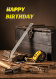 Birthday - Tools - Man Cards - Greeting Card - 6