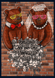 Wedding - Kanye Bears - Man Cards - Greeting Card - 6