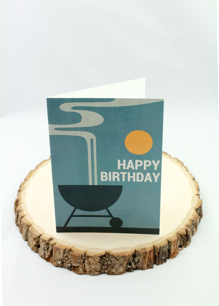 Birthday - BBQ - Man Cards - Greeting Card - 1