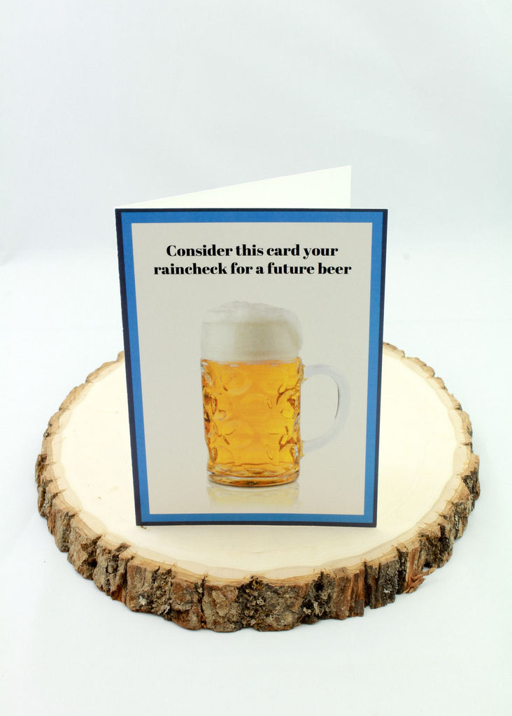 Birthday - Beer - Man Cards - Greeting Card - 1