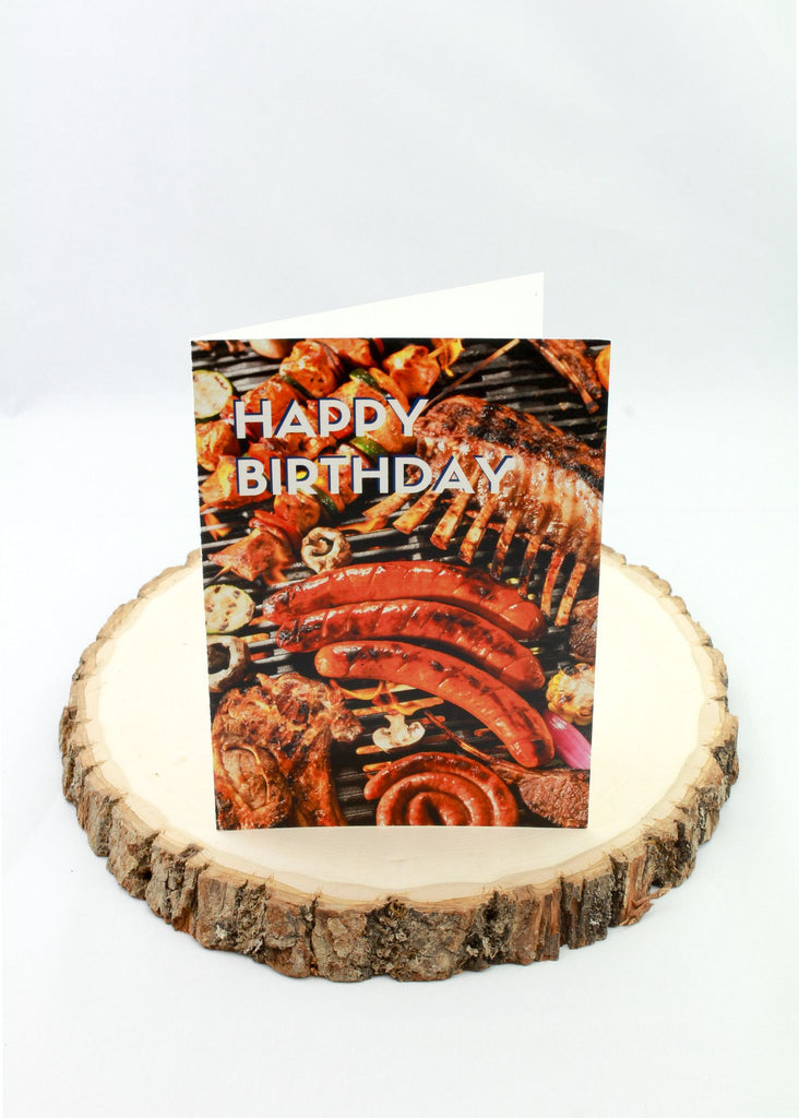 Birthday - Meats - Man Cards - Greeting Card - 1