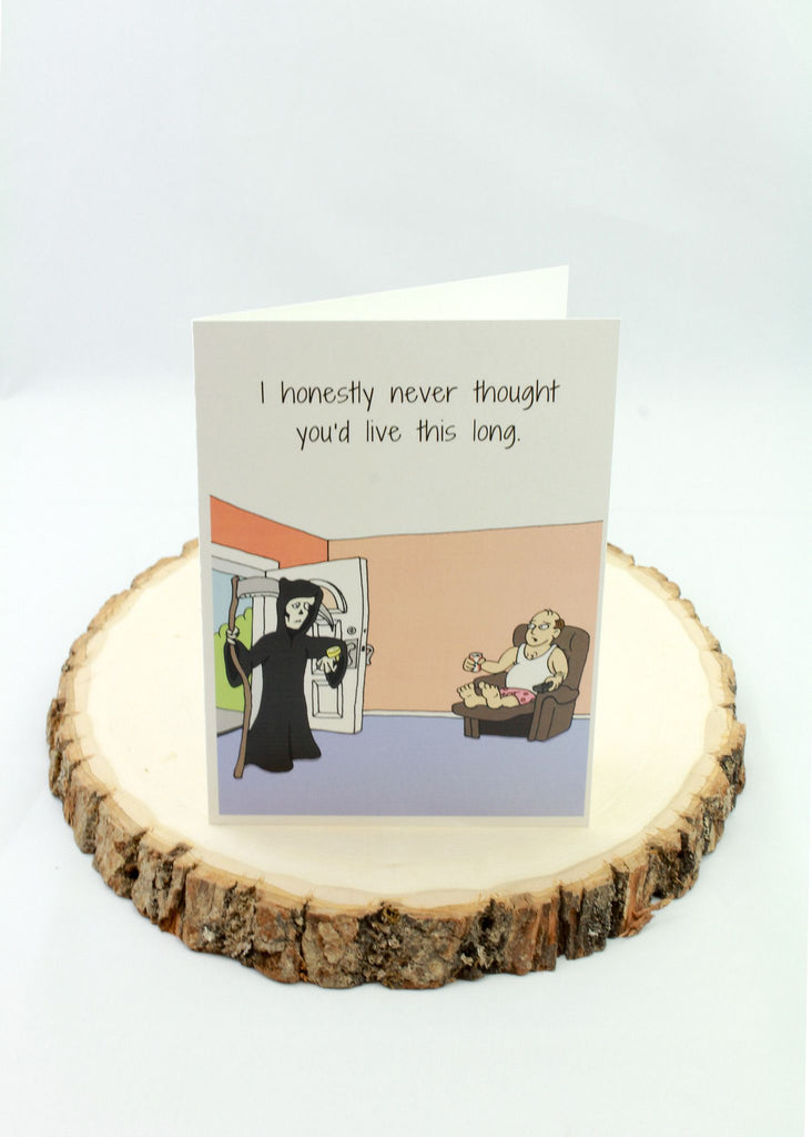 Birthday - Reaper - Man Cards - Greeting Card - 1