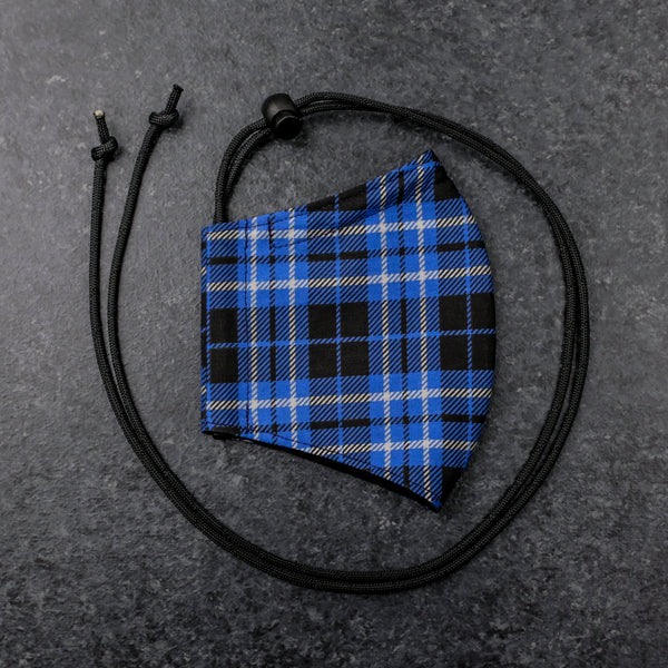 Plaid Cloth Mask