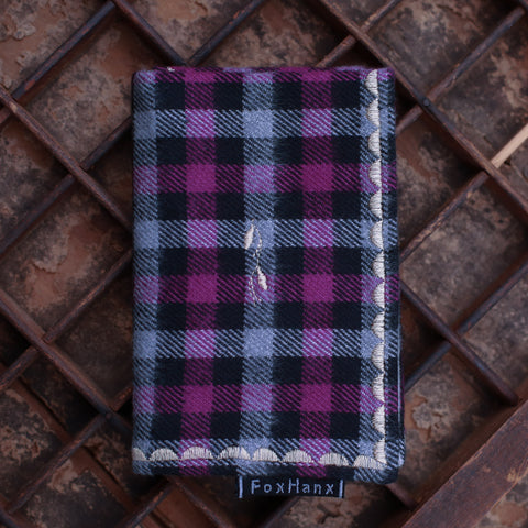 Plum Plaid Hanx