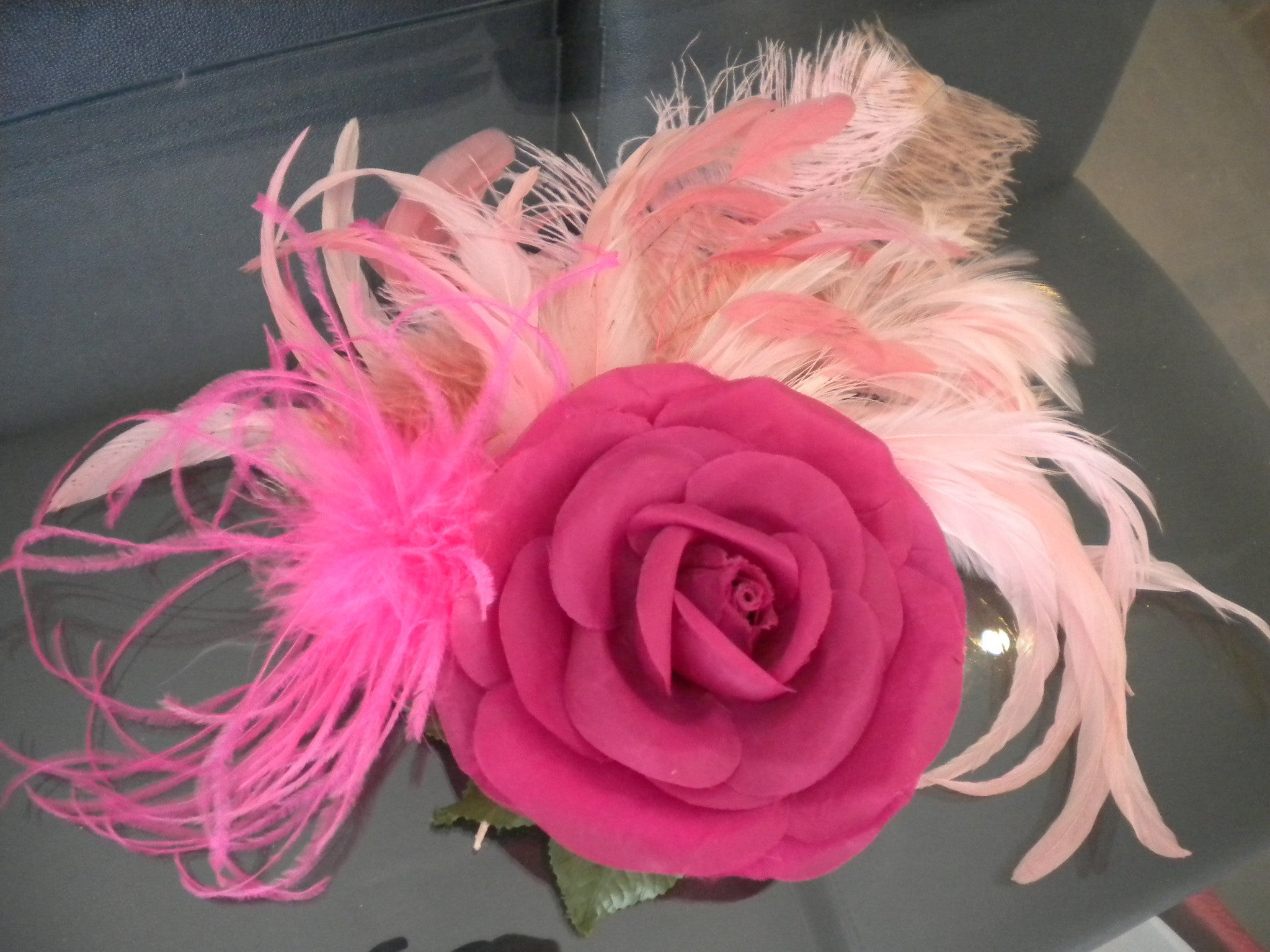 FASCINATORS four shades of pink