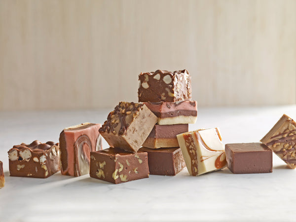 A Gift box of Fresh Fudge
