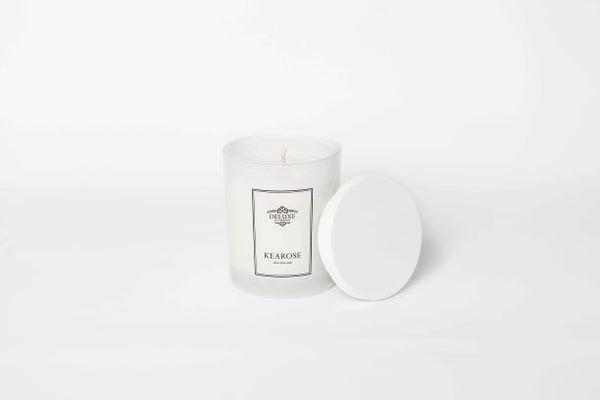 Kearose Strawberries and Champagne candle
