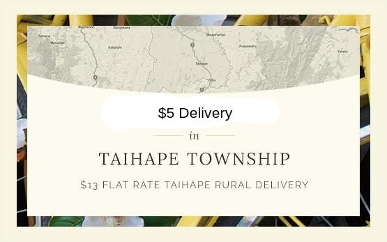 $5 delivery in Taihape