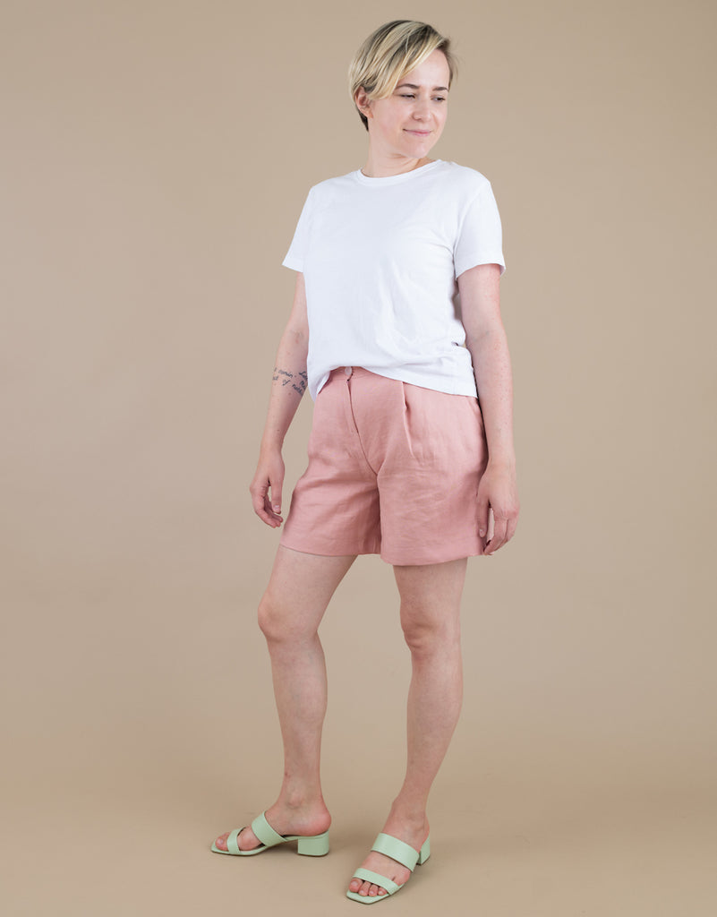 Zoe Shorts in Light Pink