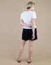 Zoe Shorts in Black (Size 8)