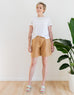 Zoe Shorts in Tan (Size 10)