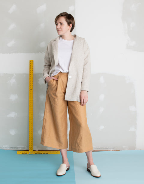 Jaklyn Jacket in Linen