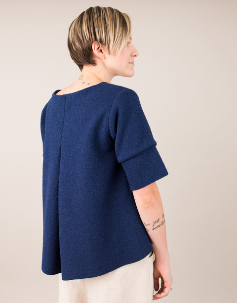 Diane Sweater in Navy Blue