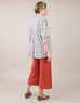 Linen Culottes in Ginger