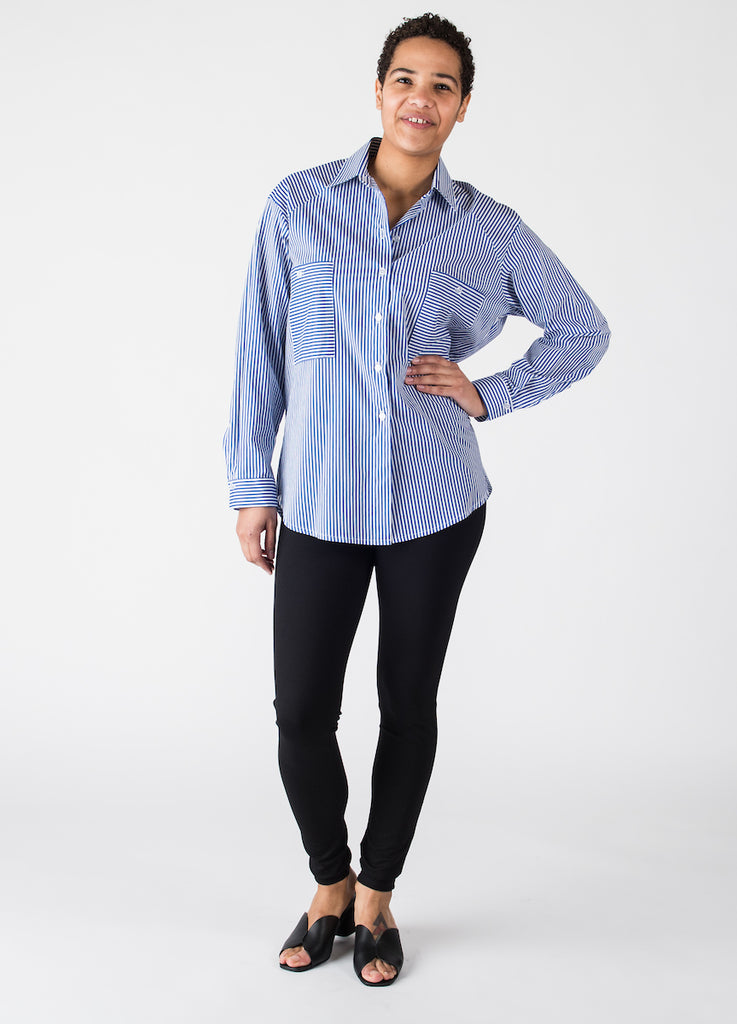 Lydie Blouse in Cotton