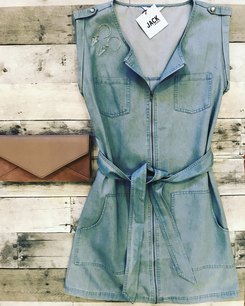 BB Dakota Chambray Dress