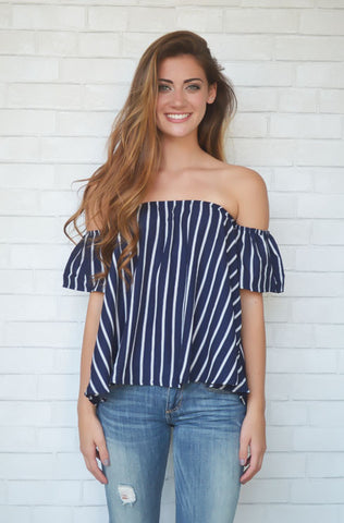 Shake It Off The Shoulder Top
