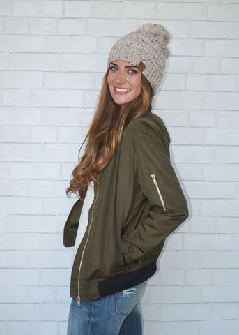 Top Rank Army Green Jacket