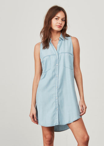 BB Dakota Chance Denim Shirt Dress
