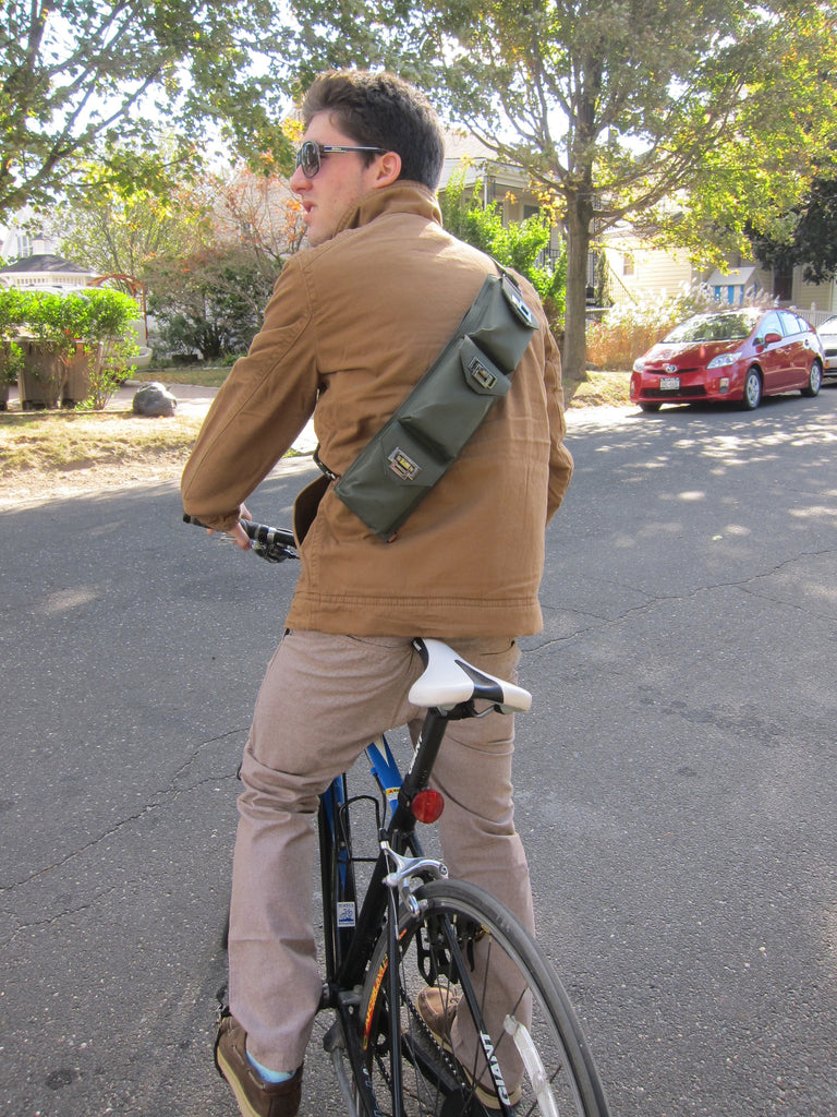 Biking with the Sucaro Freedom Sling