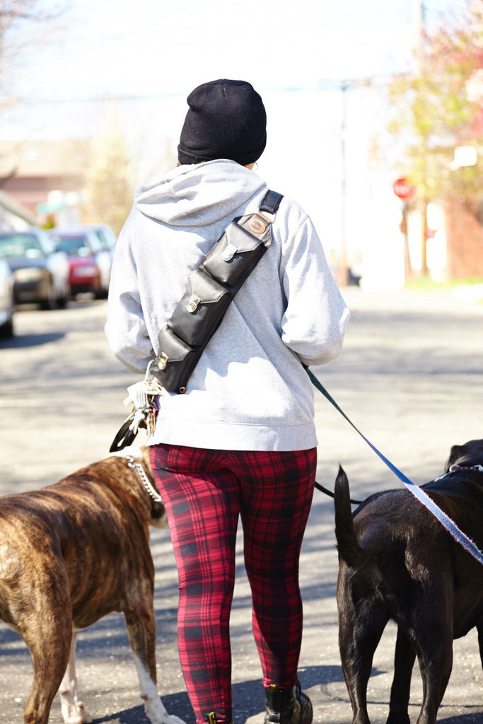 Sucaro Freedom Sling -- Best Bag for Dog Walkers -- Hands-free