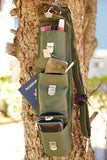 Sucaro Freedom Sling - Hands-Free - Gender Neutral - Sage Green Microfiber Bag - Sucaro Bags New York