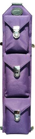 Sucaro Freedom Sling - hands-free, unisex, Purple microfiber bag